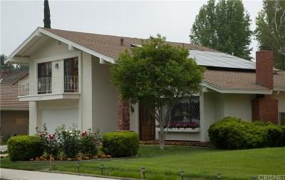 Valencia Single Family Home For Sale: 23936 Avenida Crescenta