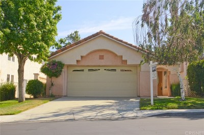 Newhall Single Family Home For Sale: 19411 San Marino Court