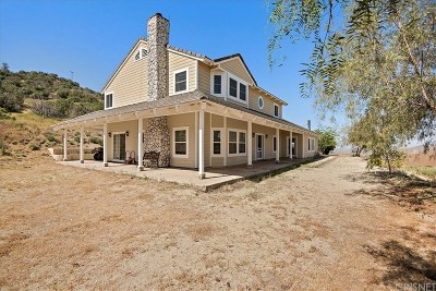 Palmdale Single Family Home For Sale: 33270 Oracle Hill Road
