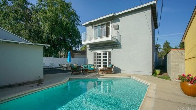Burbank Single Family Home For Sale: 1147 North Fairview Street