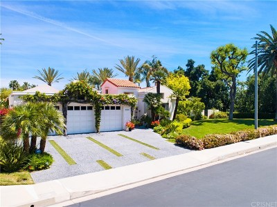 Calabasas Single Family Home Sold: 3808 Park Oeste