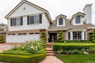 Agoura Hills Single Family Home Sold: 30282 Belmont Court