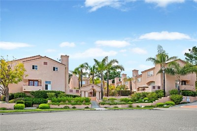 Calabasas Condo/Townhouse Active Under Contract: 4345 Freedom Drive #E