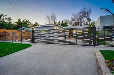 Valley Village Single Family Home For Sale: 12751 Magnolia Boulevard