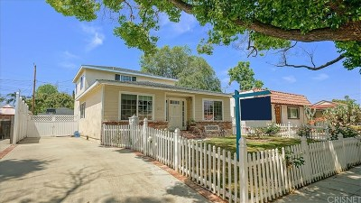 Burbank Single Family Home Active Under Contract: 415 North Ontario Street