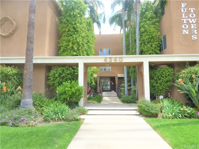 Studio City Condo/Townhouse Active Under Contract: 4240 Fulton Avenue #107