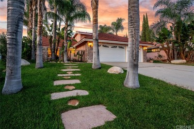 Agoura Hills Single Family Home Sold: 28709 Pisces Street