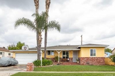 Arleta Single Family Home Active Under Contract: 8940 Gullo Avenue