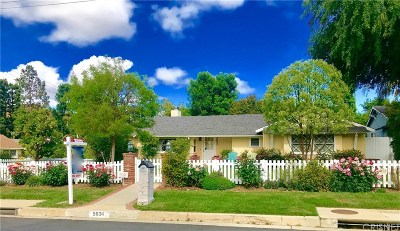 Woodland Hills Single Family Home Sold: 5034 Kelvin Avenue