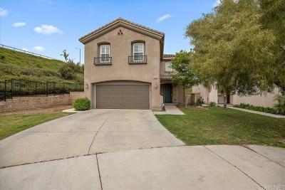 Saugus Single Family Home For Sale: 28205 Shirley Lane