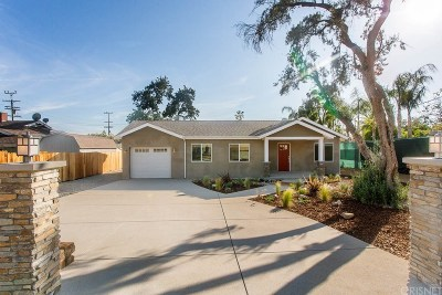 Sylmar Single Family Home Active Under Contract: 13563 Gladstone Avenue