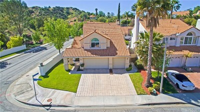 Stevenson Ranch Single Family Home Active Under Contract: 25503 Longfellow Place
