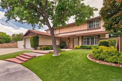 Valencia Single Family Home For Sale: 25505 Novela Way