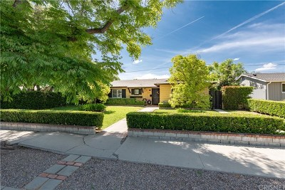 Woodland Hills Single Family Home For Sale: 23830 Victory Boulevard
