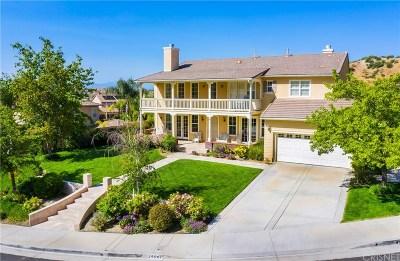Stevenson Ranch Single Family Home For Sale: 25507 Morning Mist Drive