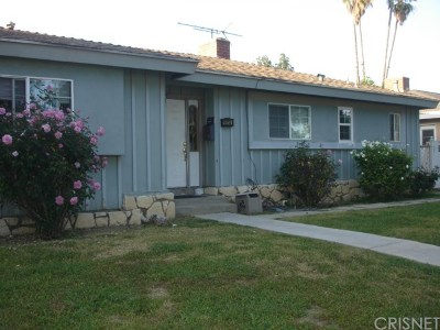 Northridge Single Family Home For Sale: 19755 Parthenia Street