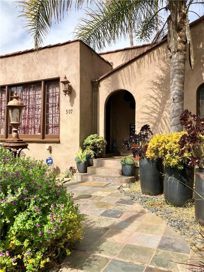 Los Angeles County Single Family Home For Sale: 507 North Stanley