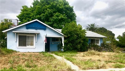West Hills Single Family Home Active Under Contract: 22601 Gilmore Street