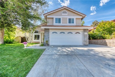 Saugus Single Family Home For Sale: 22629 Cardiff Drive