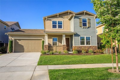 Saugus Single Family Home Active Under Contract: 22385 Copper Mountain Court