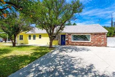 Granada Hills CA Single Family Home For Sale: $659,900
