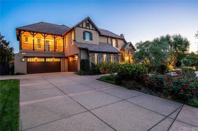 Calabasas CA Single Family Home For Sale: $4,350,000