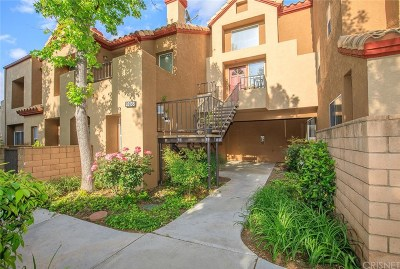 Saugus Condo/Townhouse Active Under Contract: 28138 Seco Canyon Road #77