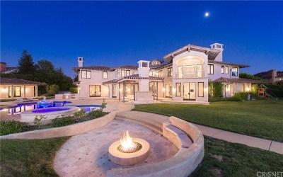 Calabasas Single Family Home Sold: 25201 Prado Del Grandioso