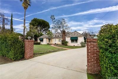 Valley Glen Single Family Home Active Under Contract: 6304 Allott Avenue
