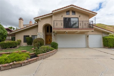 Agoura Hills Single Family Home Active Under Contract: 27801 Via Amistosa