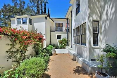 Studio City Single Family Home Sold: 11661 Duque Drive