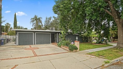 Reseda Single Family Home Active Under Contract: 7700 Geyser Avenue