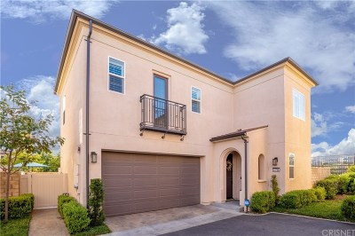 Saugus Single Family Home Active Under Contract: 21785 Propello Drive