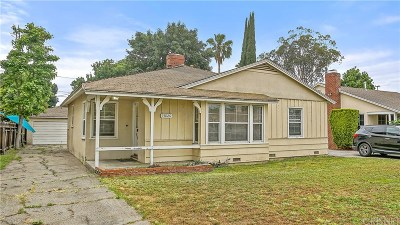 Sherman Oaks Single Family Home For Sale: 14826 Weddington Street