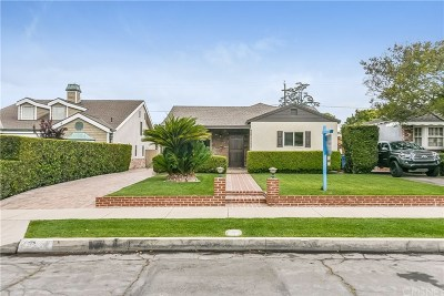 Burbank CA Single Family Home For Sale: $949,000