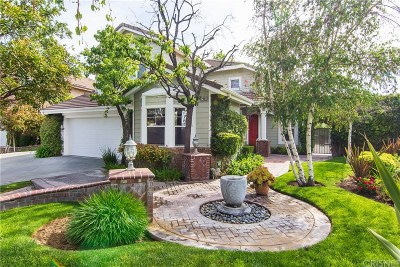 Saugus Single Family Home Active Under Contract: 22901 Red Pine Way