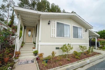 Calabasas Single Family Home For Sale: 23777 Mulholland Highway #31