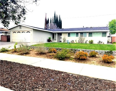 Los Angeles County Single Family Home Active Under Contract: 20601 Bryant Street