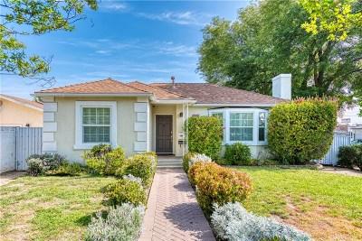 Encino Single Family Home Sold: 18003 Santa Rita