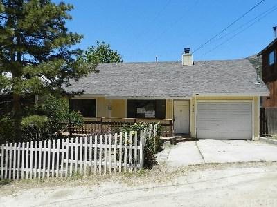 Frazier Park Single Family Home For Sale: 4154 Pico