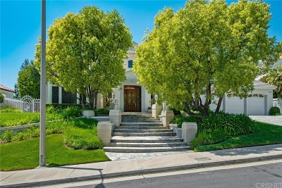 Calabasas Single Family Home For Sale: 5321 Fremantle Lane