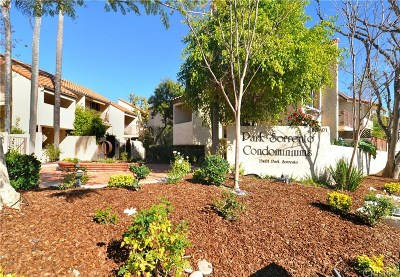 Calabasas Condo/Townhouse For Sale: 23401 Park Sorrento #58