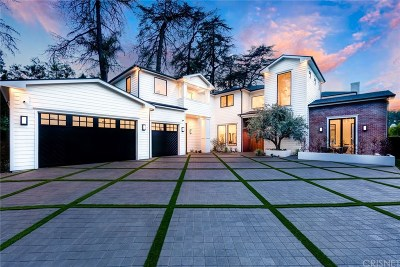 Encino Single Family Home Sold: 4421 Haskell Avenue
