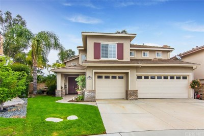 Valencia Single Family Home Active Under Contract: 23551 Vale Court