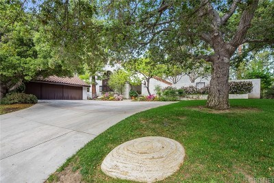 Calabasas Single Family Home Active Under Contract: 4500 Park Monaco