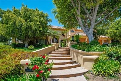 Calabasas CA Single Family Home For Sale: $2,485,000