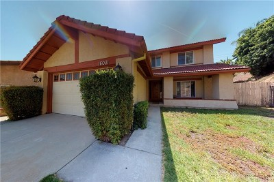 Sylmar Single Family Home For Sale: 16021 Spur Ridge Road
