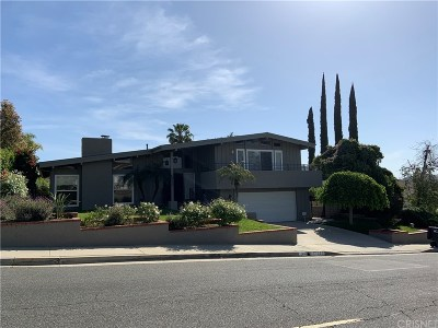 Calabasas Single Family Home Sold: 22880 Paul Revere Drive