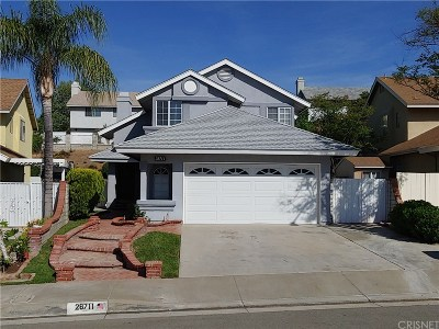 Saugus Single Family Home Active Under Contract: 28711 Raintree Lane