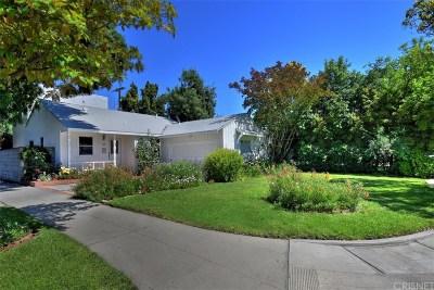 Sherman Oaks Single Family Home For Sale: 5856 Saloma Avenue